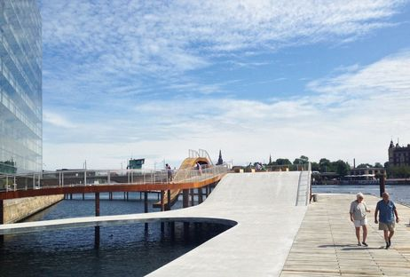JDS (Julien De Smedt architects): bord de mer de Kalvebod Brygge à Copenhague