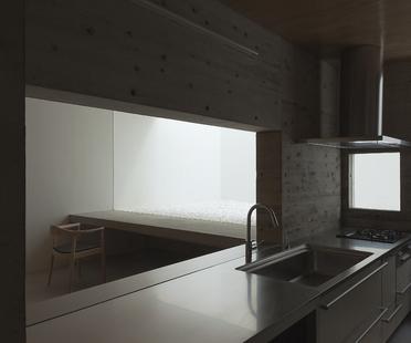 Tsukano architects: maison sans vis-à-vis sur l'extérieur au Japon