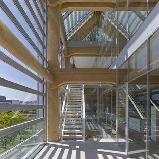 Shigeru Ban: Bureaux Tamedia, l'architecture dans le détail à Zurich