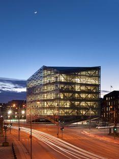 Schmidt Hammer Lassen architects : le Cristal de Copenhague