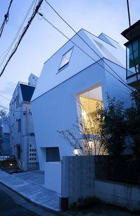 Katsuma Tai: une maison comme une coque de protection à Tokyo
