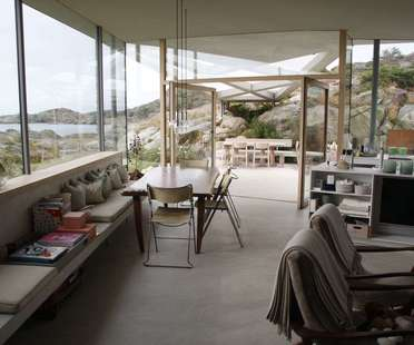 Lund Hagem architects: villa sur l'île de Lyngholmen en Norvège