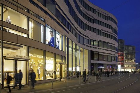 Le Kö-Bogen de Düsseldorf, un complexe de bureaux signé Daniel Libeskind