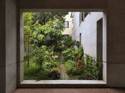 Rafiq Azam et la Manum residence à Chittagong (Bangladesh)