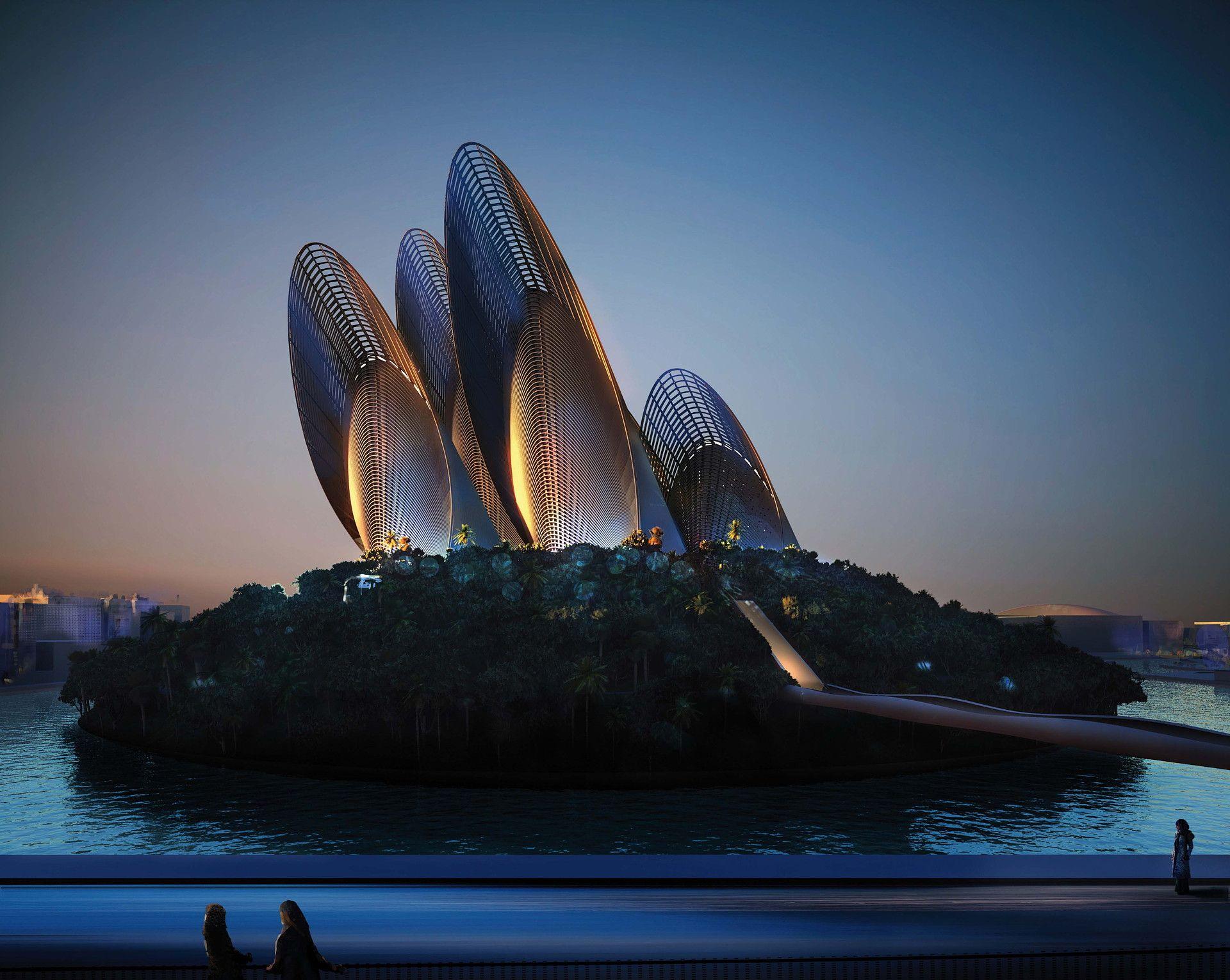 Abu Dhabi : architecture et design stellaire