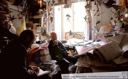 Riccardo Dalisi dans son étude