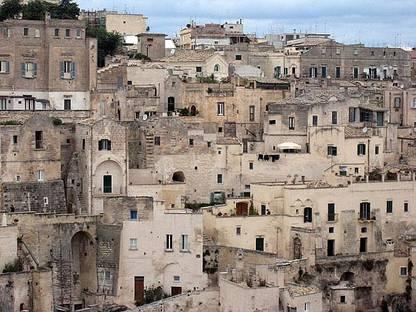 """Matera : redécouvrir les """"Sassi"""", un ancien système d'habitation."""