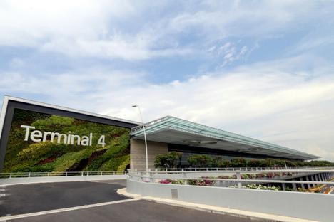 Apertura del Terminal 4 del Changi Airport, Singapore
