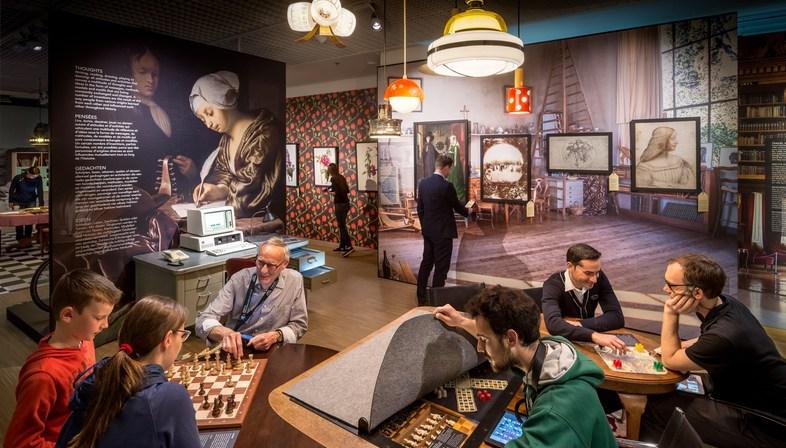 Mostra di Kossmann.dejong alla Casa della Storia Europea Bruxelles