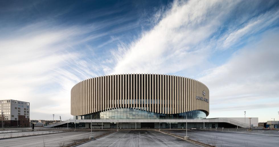 3XN and the Royal Arena, Copenhagen