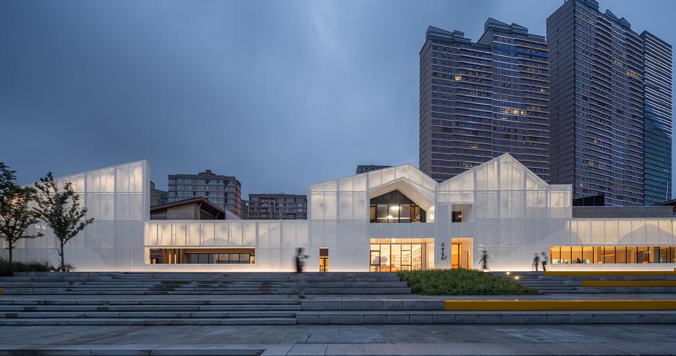 Duoyun bookstore in Taizhou designed by Wutopia Lab