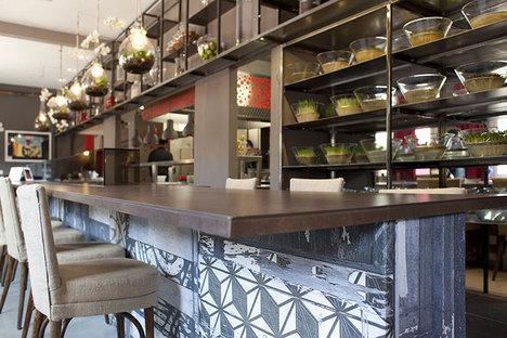 Le restaurant Èvviva de Riccione opte pour la céramique antibactérienne Active
