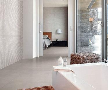 Des surfaces en grès cérame pour une salle de bain idéale