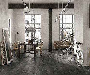 Des carrelages en grès effet bois pour intérieurs et extérieurs