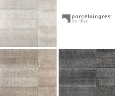Porcelaingres: revêtements de sols et murs Medley Stone