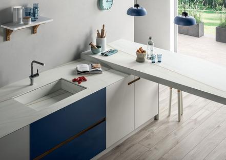 SapienStone: le plan de travail idéal pour la cuisine est en grès cérame