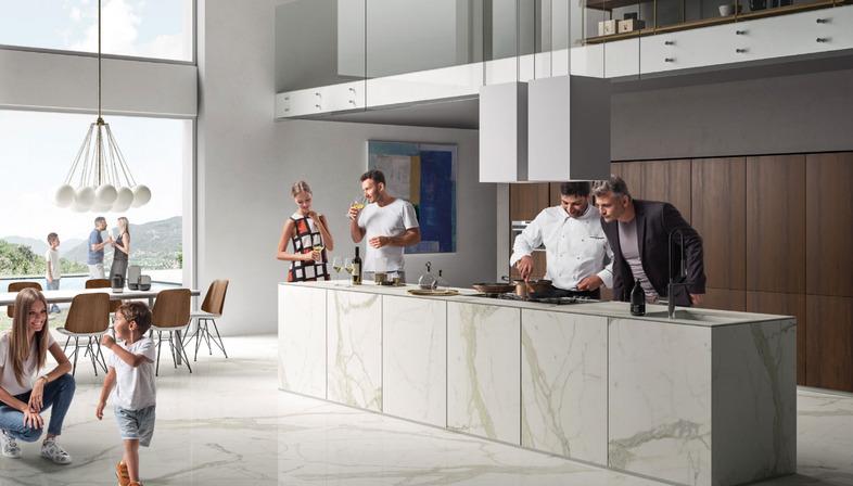 SapienStone: le migliori superfici in gres porcellanato per top cucina