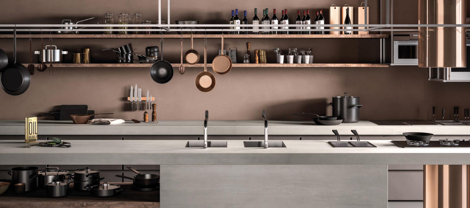 SapienStone : les meilleures surfaces en grès cérame pour les plans de cuisine