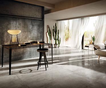 Nuovi rivestimenti contemporanei Diesel Living with Iris Ceramica