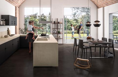 SapienStone : la première marque de grès cérame pour les plans de travail des cuisines