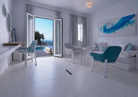 Ultra Ariostea: revêtements de sol et de mur pour hôtels de luxe et villas au bord de la Méditerranée