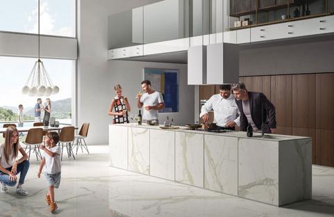 Les plans de cuisine SapienStone : parfaits aussi bien pour les maisons que pour les restaurants