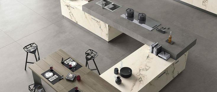 Roads Maxfine: grès cérame grand format pour intérieurs et extérieurs