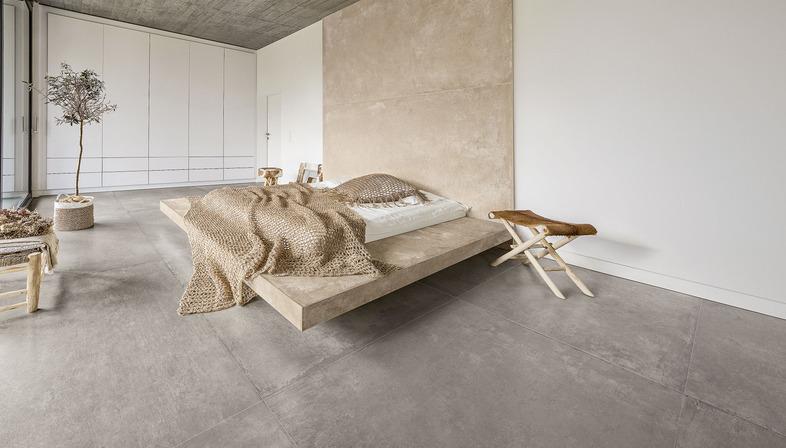 Ariostea réinterprète le style minimaliste avec CON.CREA. et Blend.HT.