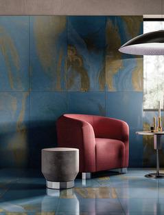 Diesel Living with Iris Ceramica : les nouveaux effets design de Cosmic Marble