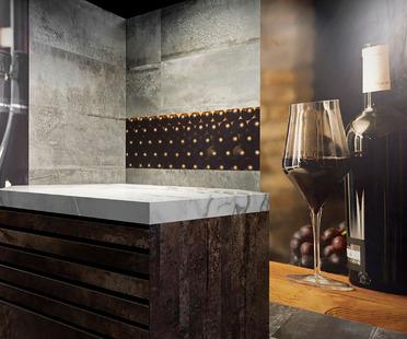 Décorer et personnaliser les espaces : c'est désormais possible sur les dalles en céramique Fiandre grâce à la technologie DYS