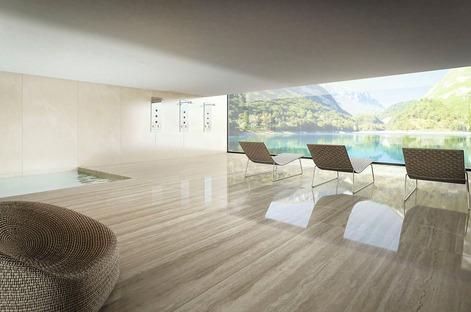 Sols, revêtements et applications design avec Ultra Marmi Ariostea