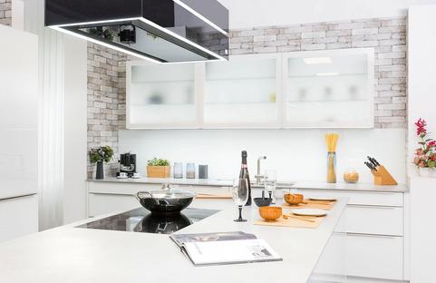 Les surfaces claires des plans de cuisine SapienStone : quand l'authenticité rencontre l'élégance