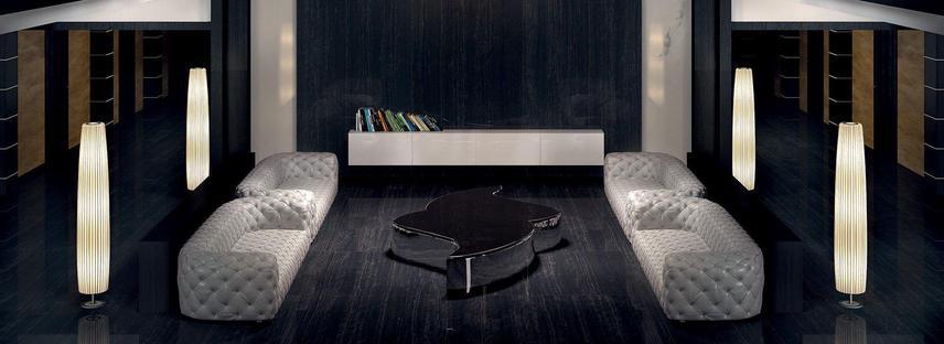 L'élégance et le charme des surfaces sombres: marbres Maxfine FMG