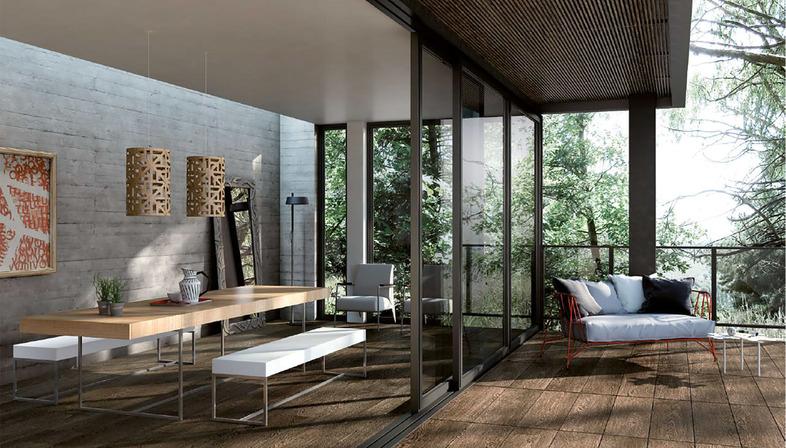 Porcelaingres: solutions effet bois pour les surfaces de la maison 2020