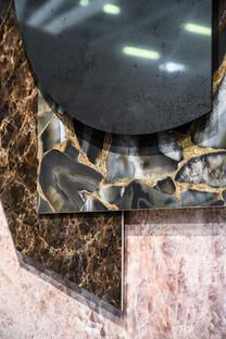 Des pierres naturelles à la céramique technique : la beauté intemporelle d'Amazonite et d'Emperador.