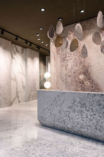 MaxFine Gemstone : la beauté des minéraux au service des nouvelles surfaces céramiques