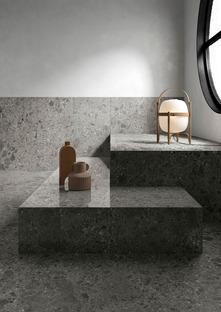 Des couleurs neutres très tendance : les surfaces effet pierre Fragmenta Full Body