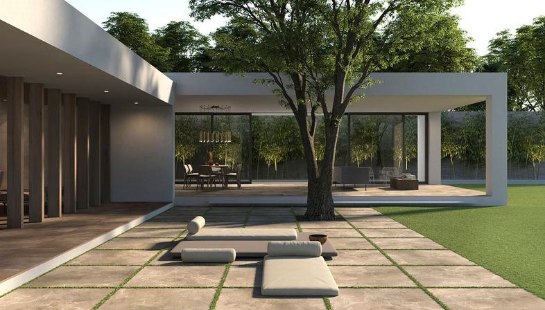 Les solutions plein air de Porcelaingres pour rénover les sols extérieurs