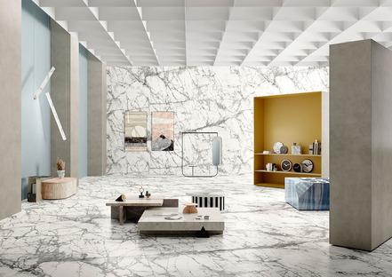 Fonctionnel et décoratif : les deux facettes du marbre à l'honneur des nouvelles collections Fiandre