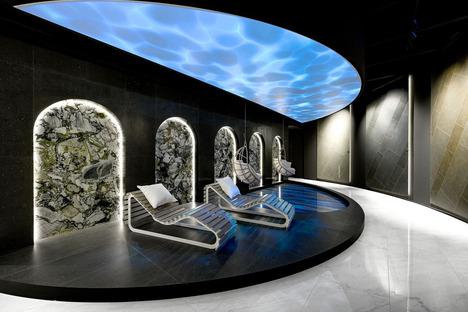 Dalles céramiques grand format de Fiandre : le charme du vert d'eau d'Amazonite