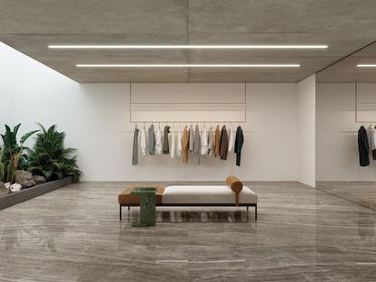 Nouveaux marbres Ultra Ariostea : le charme naturel des couleurs neutres
