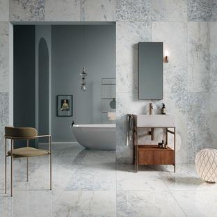 Crystal Dark, Grey et Sky : l'élégance raffinée des nouveaux marbres Ariostea
