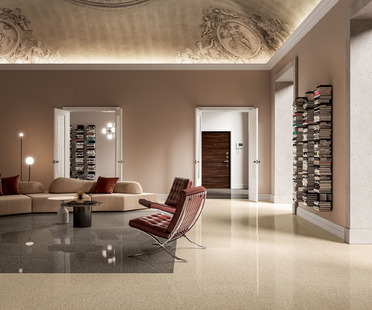 Les dalles en céramique Palladio de FMG : aussi originales et uniques que dans la nature.
