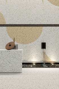 L'art ancestral du terrazzo revient sur le devant de la scène grâce aux surfaces Accademia d'Ariostea