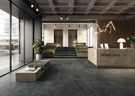 Porcelaingres Urban : des surfaces effet matière polyvalentes pour des espaces contemporains