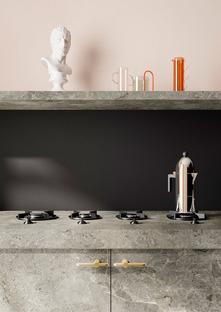 Les plans SapienStone déclinés dans des nuances de gris pour des cuisines alliant élégance et fonctionnalité