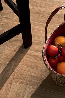 Des atmosphères chaudes et relaxantes avec la céramique technique effet bois