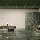 Le vert, couleur tendance pour revêtements et mobilier: tout le charme des marbres Fiandre