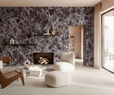 Les nouveaux effets marbre d'Iris Ceramica Group : toute la séduction et la beauté de la céramique grand format