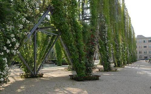 Parc MFO Zurich Oerlikon (CH). Requalification d'une ancienne zone industrielle
